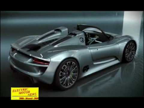 Electric Motor News n° 9 (2010) - Porsche 918 Spyder Hybrid (in Deutsche)