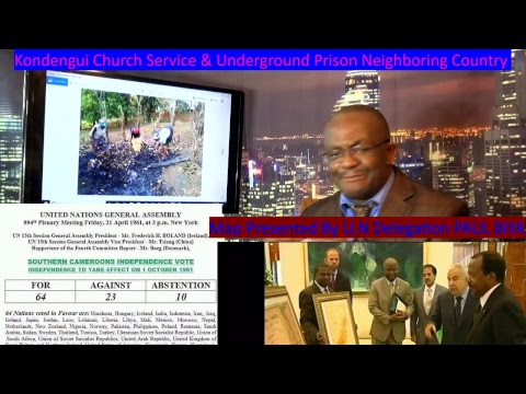 African Decolonization Act, Federal Republic of Ambazonian Independence, France Enslavement of Afric