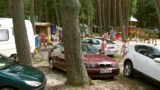 Ostsee Morze Bautyckie 1. Leba Camping Ferienhaus : 330 km von Ahlbeck Usedom entfernt  !
