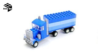 How to build lego  Semi-Truck : Lego Classic 10705 kid toy