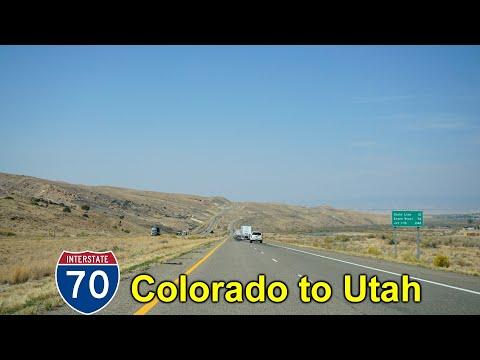 2K20 (EP 50) Interstate 70 West: Colorado into Utah