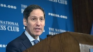 CDC Director Tom Frieden addresses Zika outbreak at the National Press Club