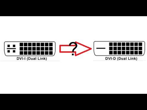Как из dvi i сделать dvi d