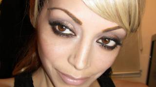 Nicole Richie Inspired Hair  & Makeup Tutorial from the Golden Globes 2012