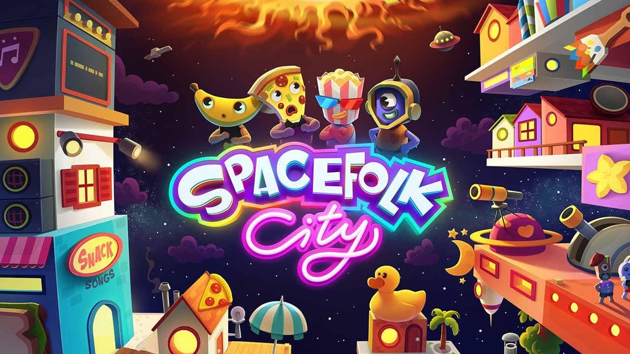 """Crea tu propia ciudad con """"Spacefolk City"""""""