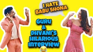 Dhvani Bhanushali & Guru Randhawa's funniest Interview ever 😂 | Baby Girl | RJ Kanika