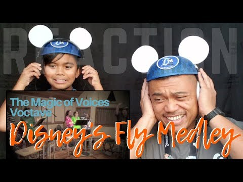 "AMAZING VOICES Singing The ""Disney Fly Medley"" 