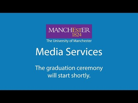 University of Manchester - Winter Graduations