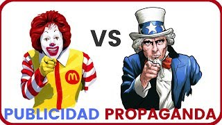 Cuál es la diferencia entre Publicidad y Propaganda? - YouTube
