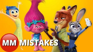 10 Biggest Biggest MOVIE MISTAKES YOU Found in Animated Films - MOVIE MISTAKES