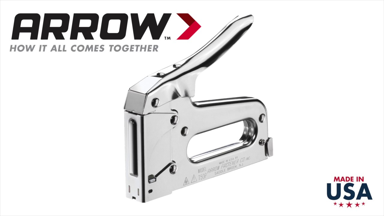 hftpistol arrow t50 heavy duty staple gun