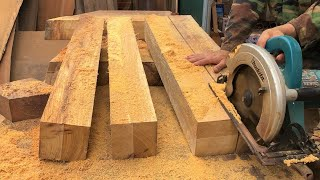 Ingenious Woodworking Workers At Another Level // Amazing Woodworking Skills Of Young Carpenters