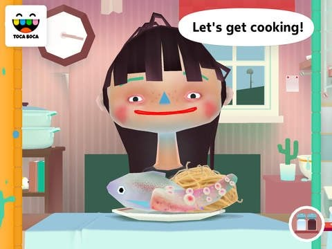 Toca Kitchen 2 | Cooking App For Kids