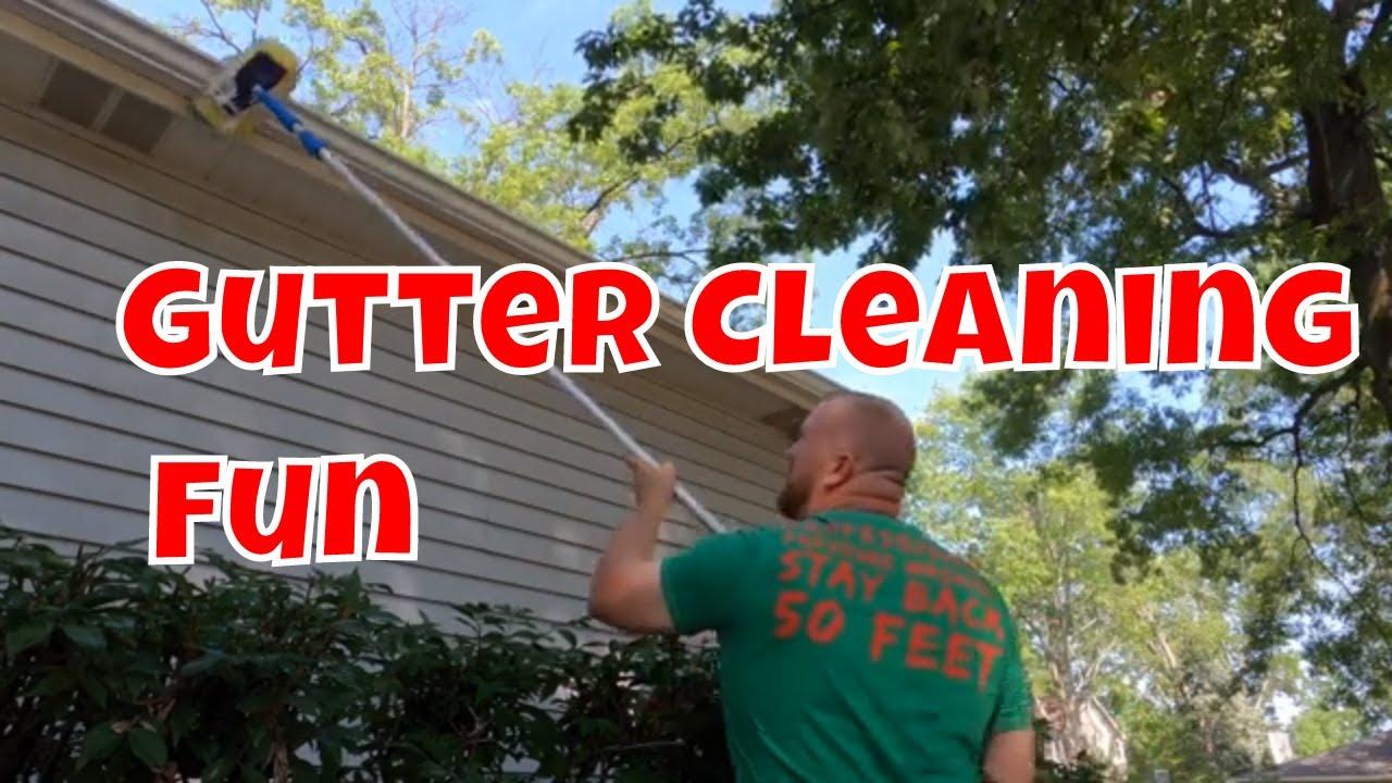 Gutter Brightening Or Exterior Gutter Cleaning FUN