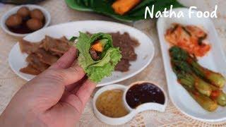 Sốt thịt nướng BBQ(heo, bò), sốt chấm đơn giản mà ngon tuyệt giúp thịt mềm thơm đậm đà    Natha Food