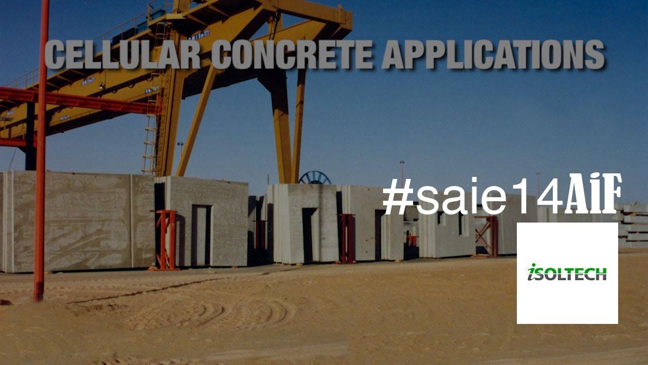 Cellular Concrete House Building For : Cellular concrete production for buildings isoltech doovi