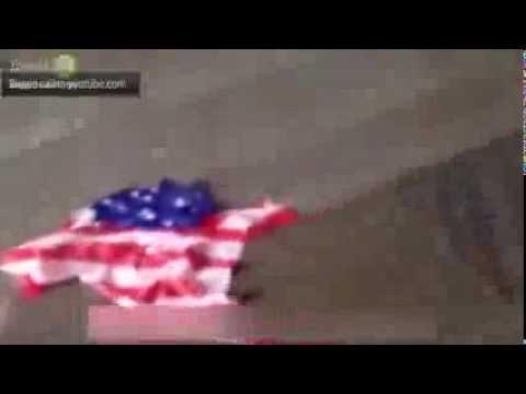 Казаки в действие молодцы ребята!!(Bloodhound Gang избит и амерский флаг опущен!)