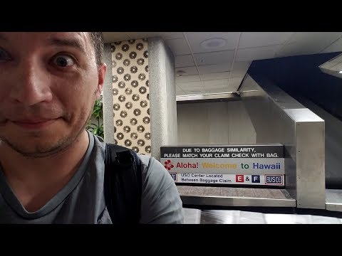 My Trip To Hawaii, Part 1 - Arrival And Hickam AFB