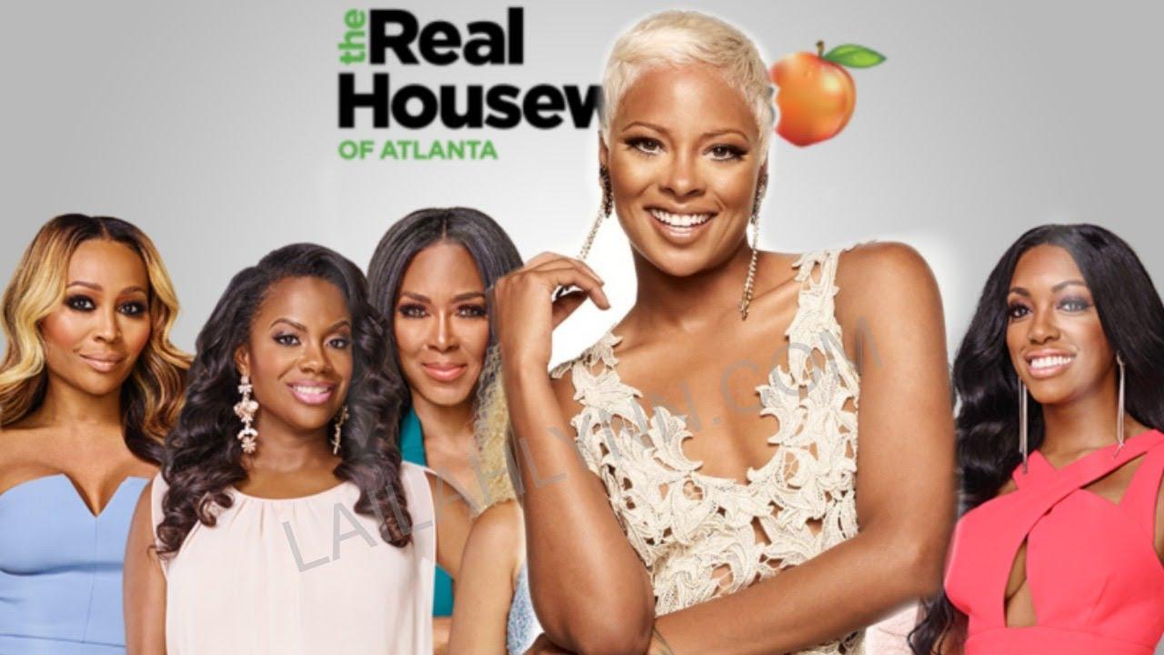 Eva Marcille Filming For Real Housewives Of Atlanta Season 10 May