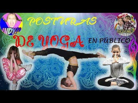 ¡¡¡¡¡¡¡HACEMOS YOGA 💪en PÚBLICO!!!!!👨👩👵👴// con EL CANAL: EL MUNDO de INDY //