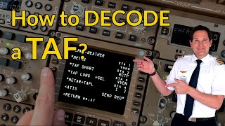 How to DECODE and READ a TAF? Aviation weather! Explained by CAPTAIN JOE screenshot 2