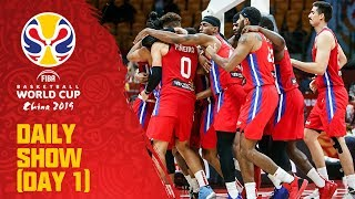 Daily Show | Day 1 | FIBA Basketball World Cup 2019
