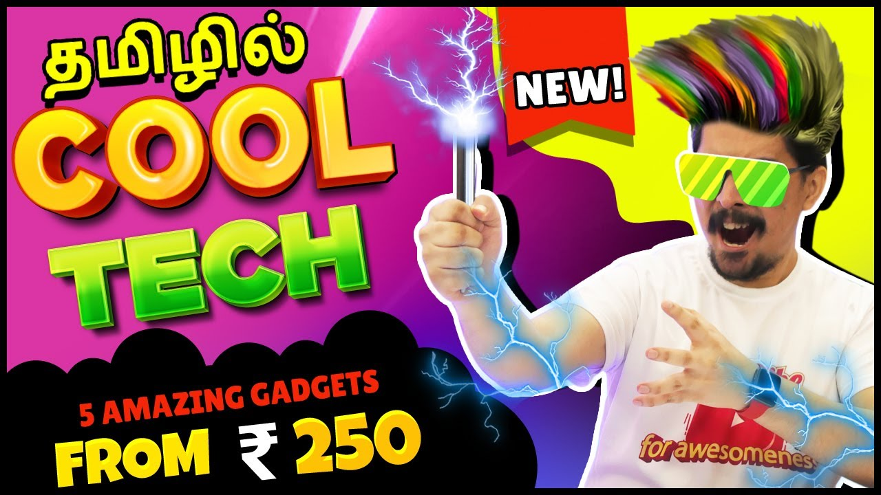 Top Tech Amazon Gadgets In Tamil   தமிழ் - from Rs.250