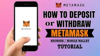 How to DEPOSIT or WITHDRAW on your Metamask Wallet   App Tutorial screenshot 5