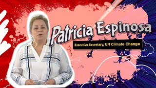 Patricia Espinosa - Head of United Nations Climate Change, speaks on My Earth Songs & Climate Action