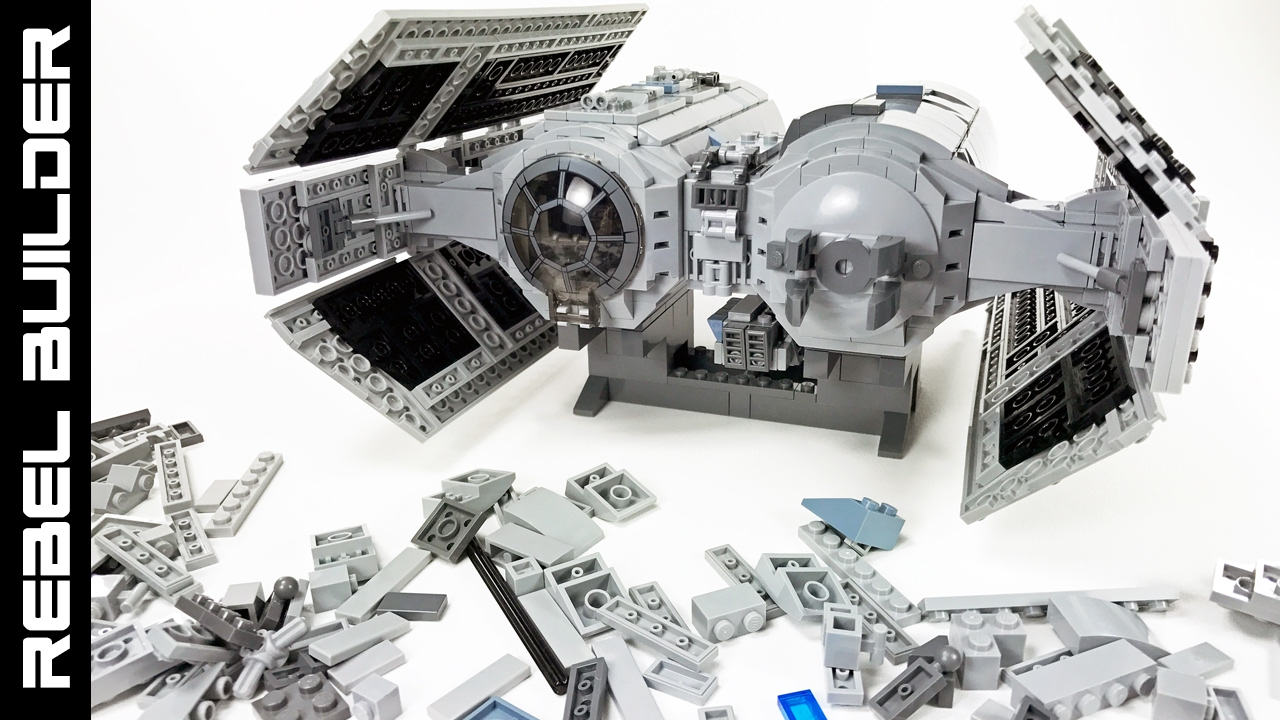 Building A Lego Star Wars Tie Bomber Moc Part 1 Of 3 Youtube