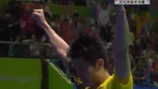 lin dan 羽毛球男单决赛 林丹夺金赛场疯狂片段