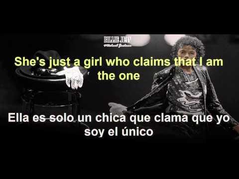 Michael Jackson-Billie Jean (Sub  Español- Lyric)