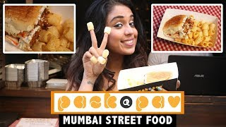 Unique Street Food In Mumbai | Pack-A-Pao | Food Challenge