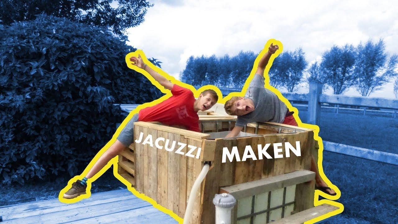 Geliefde EIGEN JACUZZI MAKEN #1 - YouTube #KB82