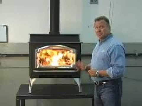 Lopi Liberty Wood Stove - Lopi Liberty Wood Stove - YouTube