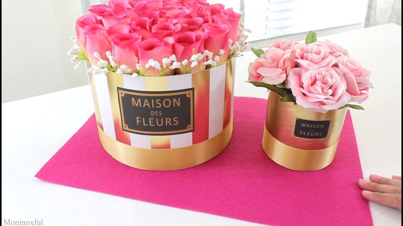 diy c mo hacer arreglos florales maison des fleurs youtube. Black Bedroom Furniture Sets. Home Design Ideas