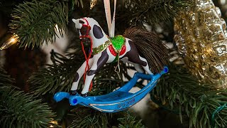 Keepsake Ornament Giveaway - Forty-Five Years of Memories Rocking Horse - Hallmark Channel