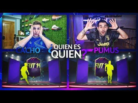 NOS TOCA UNA FUTURA ESTRELLA!! | QUIEN ES QUIEN DISCARD CHALLENGE VS PUMUS!! | FIFA 19