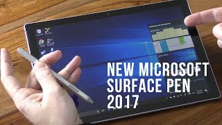 Review and Unboxing of the new Microsoft Surface Pen 2017
