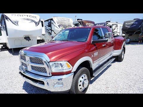 2014 Ram 3500 Mega Cab Dually, 4x4, Laramie, Diesel, 38K Miles, Aisin Transmission , $46,900