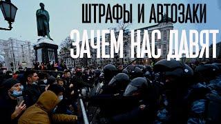 Митинг КПРФ на Пушкинской после выборов. Зачем нужны штрафы и задержания несогласных