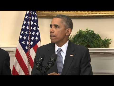 President Obama statement on Guantanamo Bay Detention Center