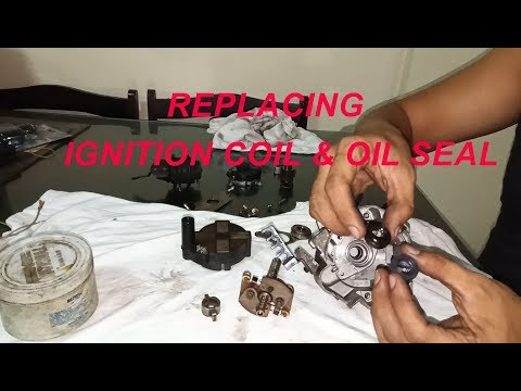 Mitsubishi Lancer Distributor Overhaul – Including Ignition Coil and Oil Seal Replacement