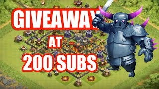 TH8 Giveaway At 200 Subs + live base showing !!