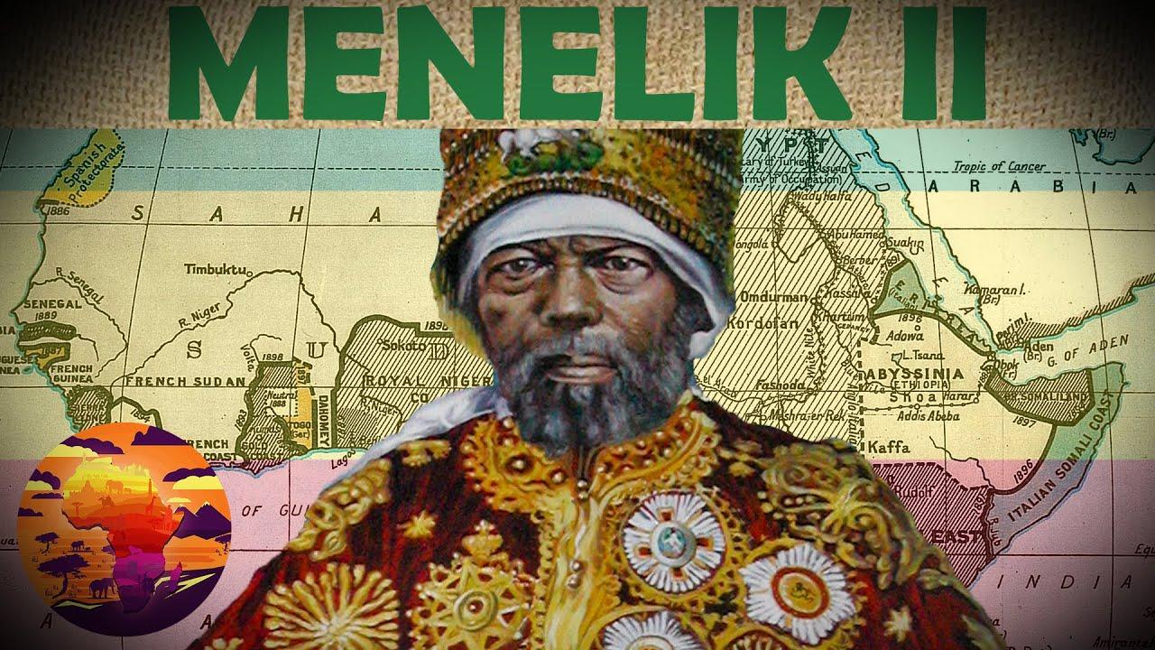 How Ethiopia Beat Colonialism | The Life & Times of Menelik II - YouTube