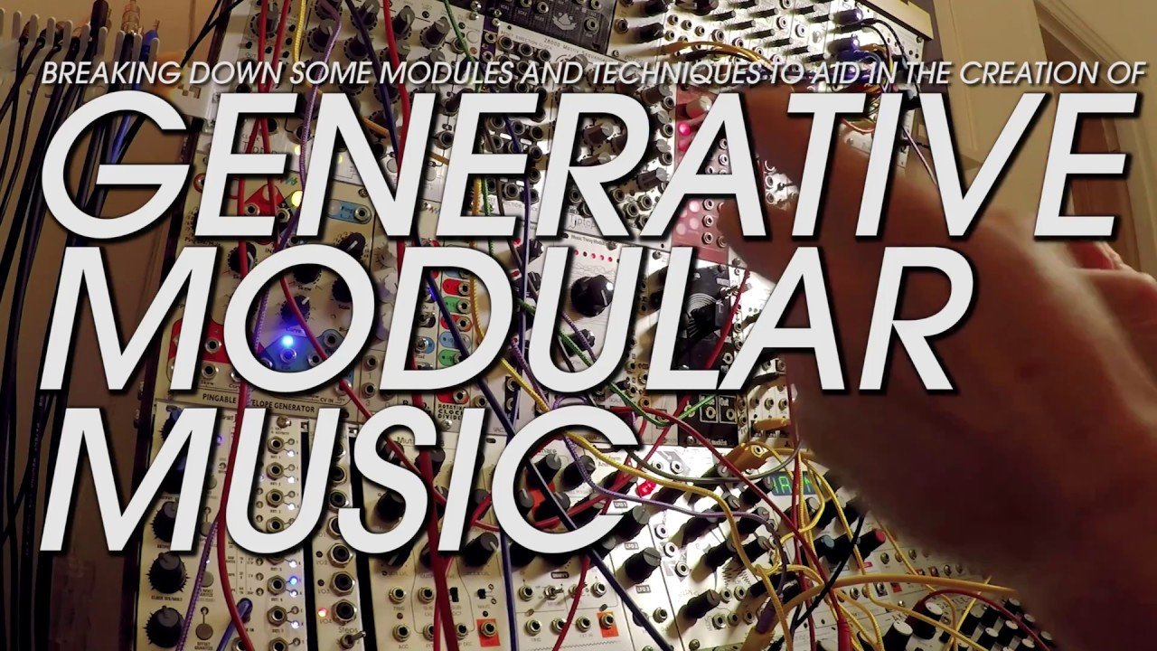 An Intro to Making Generative Music on Modular