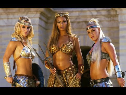Britney,Beyonce and Pink We Will Rock You  Mr TYssi