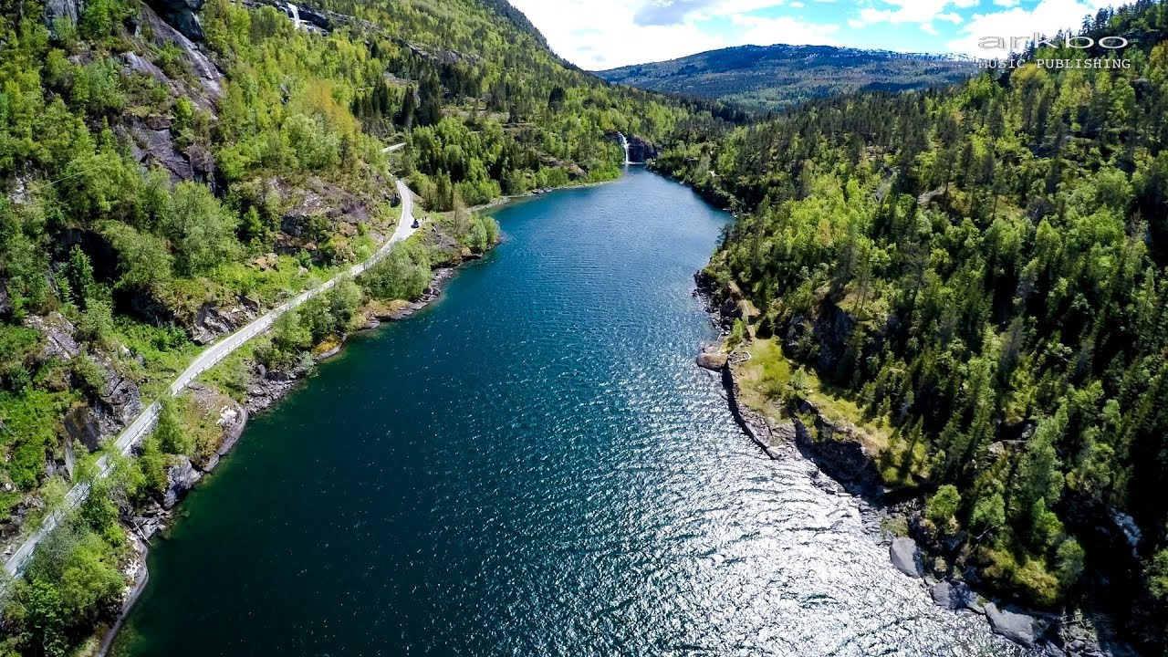 Beautiful Aerial Drone Footage