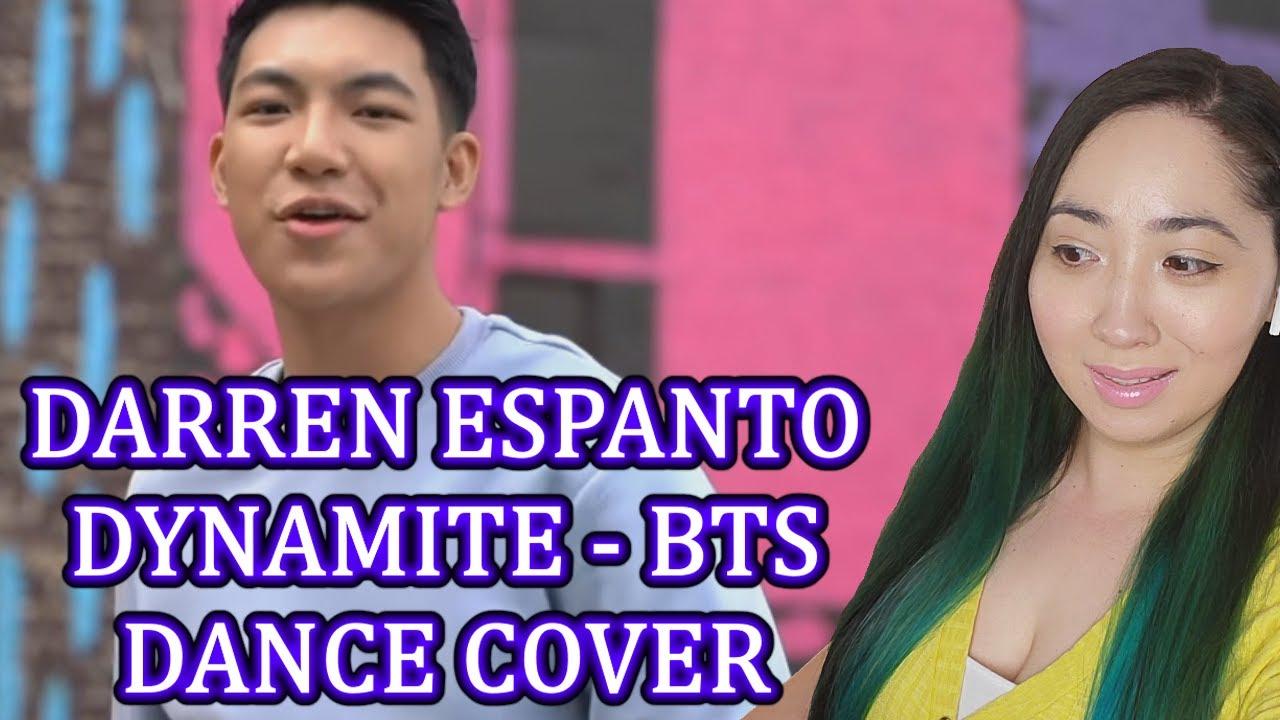 First Impression of DARREN ESPANTO DYNAMITE - BTS DANCE COVER   Eonni88
