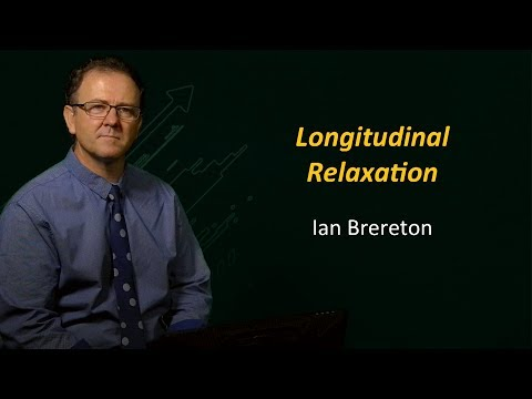 UQx BioImg101x 5.3.9 Longitudinal Relaxation